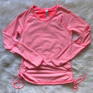 🧡Lucy Athletic Striped Cinch Performance Top🧡